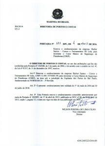 Portaria CBSP Santos No. 135 de 2016