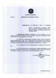 CBSP no RJ – Portaria nº 158 DPC