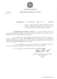 CBSP no RJ – Portaria nº 179 DPC