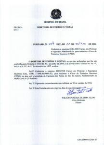 CPSO no RJ – Portaria nº 224 DPC
