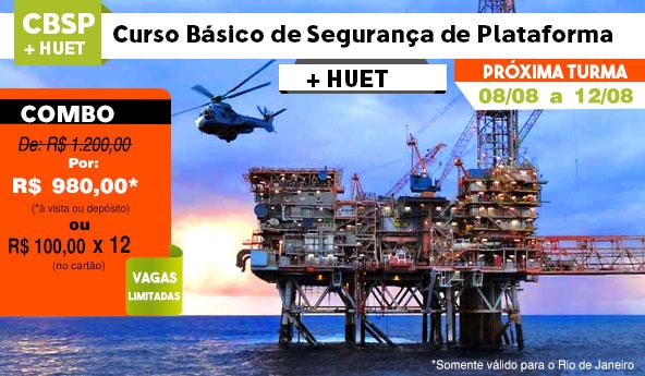 Promoção CBSP e HUET Agosto 2016