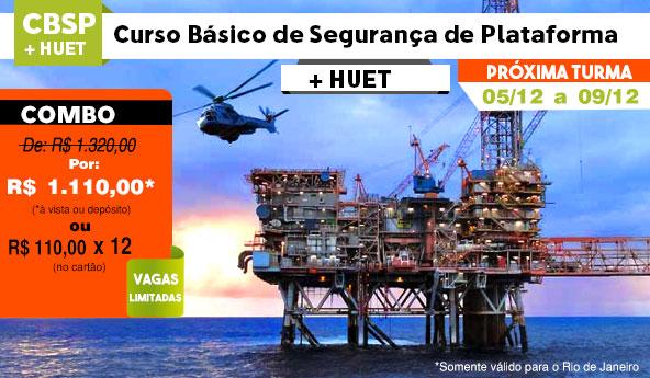 Promoção CBSP+HUET Dezembro 2016