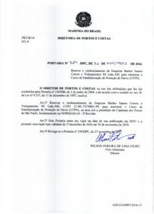CFPN em Santos - Poratia 389