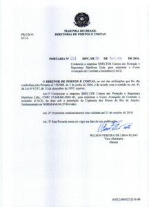 CACI no RJ – Portaria nº 221 DPC