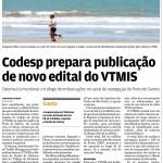 Codesp prepara publicação de novo edital do VTMIS