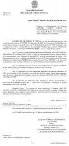 EBCP em Santos - Portaria n° 186 DPC