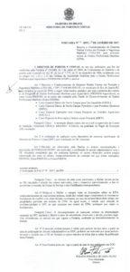 EBCP no RJ - Portaria nº 9/2017 DPC
