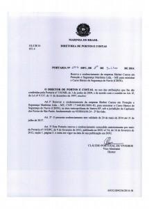 CBSN em Santos – Portaria nº 155 DPC