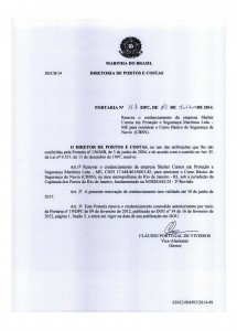 CBSN no RJ – Portaria nº 157 DPC