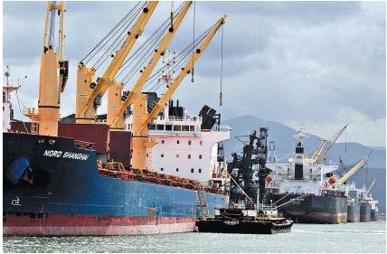 VTMIS irá monitorar navegação dos cargueiros no estuário, podendo detectar acidentes ambientais